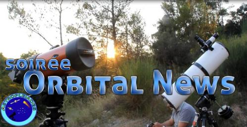 Affiche officielle Orbital News (image ODH Tv et Astropleiades)