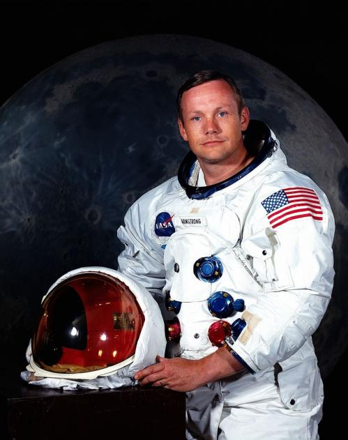 L'astronaute Neil Armstrong... (image NASA)