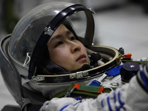 Liu Yang, première femme chinoise dans l'espace...
