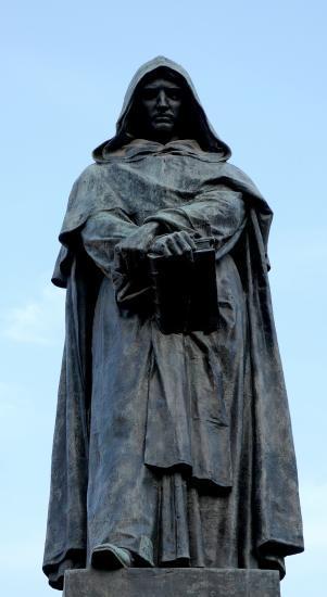 Statue de Giordano Bruno (piaza dei fiori)
