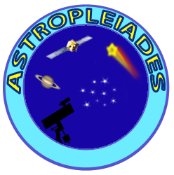 Logo officiel du site Astropleiades