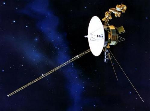 La sonde Voyager (image d'artiste)