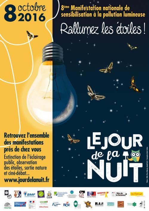Affiche Jour de la Nuit 2016 (image JDLN)
