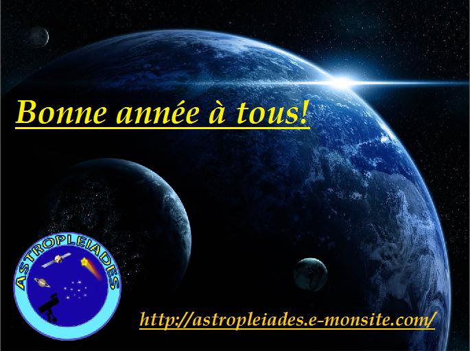 Voeux officiels du site Astropleiades