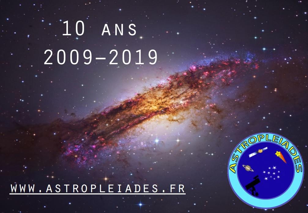 Anniversaire Astropleiades 2019