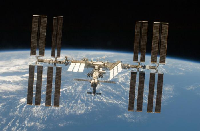 La Station spatiale Internationale (ISS)...