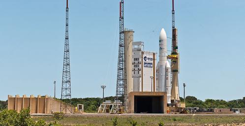 Ariane 5 VA-226 (image Arianespace)