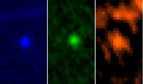 L'astéroïde Apophis vu par Herschel (image NASA)