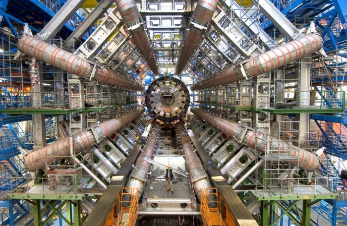 Photo du LHC à Genève