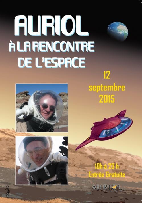 Auriol à la Rencontre de l'Espace 2015