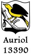 Blason officiel de la ville d'Auriol (image auriol.fr)