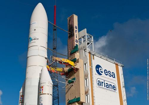 Coiffe d'Ariane 5 ECA (image Arianespace)
