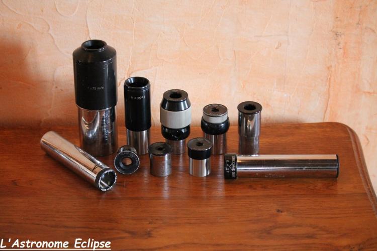 Collection d'accessoires Clavé (image L'Astronome Eclipse)