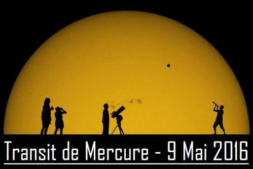 Logo Transit de Mercure 2016 (image Astropleiades)