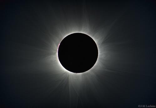 Eclipse solaire 14 Novembre 2012 (image Jean-Marc Lecleire)