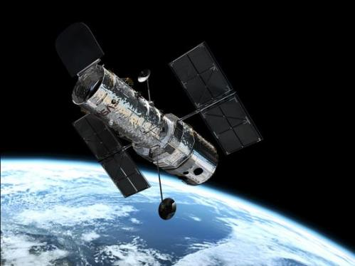 Le télescope Hubble (image NASA)