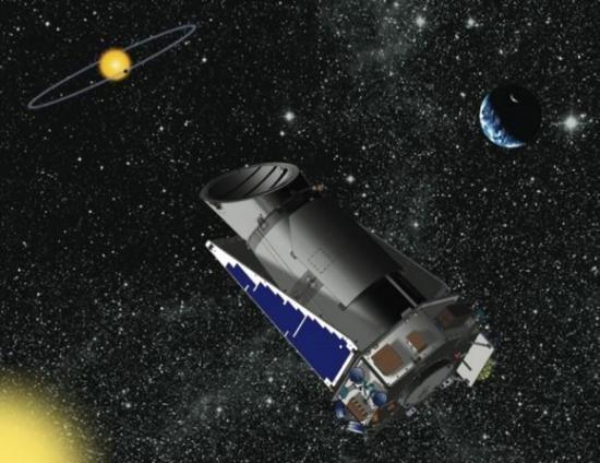 Le télescope spatial Kepler... (image d'artiste)