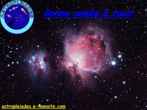 Voeux officiels du site Astropleiades (2013)