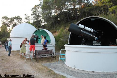 Observatoire astronomique (image L'Astronome Eclipse)