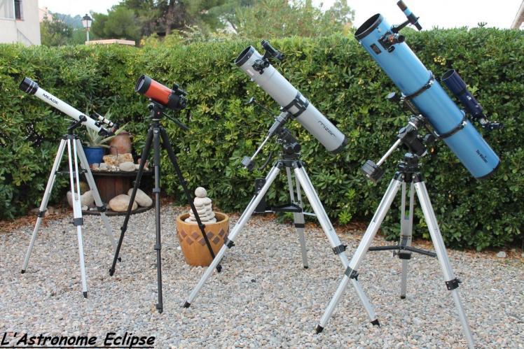 Quelques instruments (image L'Astronome Eclipse)