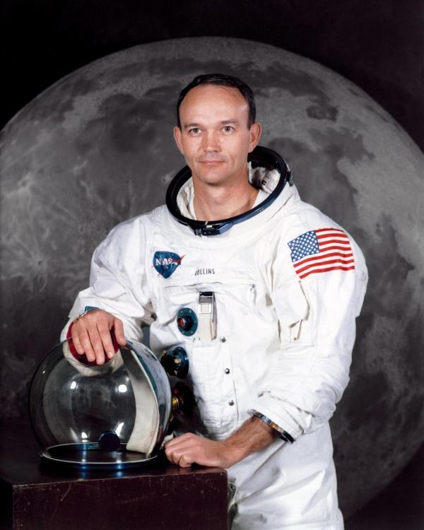 L'astronaute Michael Collins (image NASA)