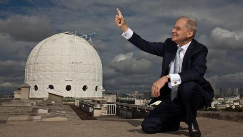 L'astronome André Brahic (image Olivier Roux)
