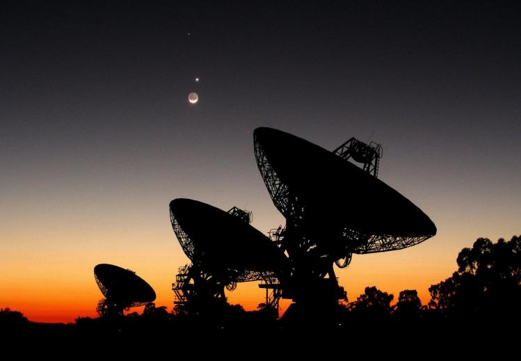 L'Australia Telescope Compact Array (image ATNF)