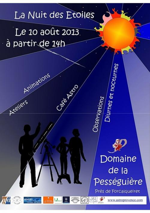 Nuit des Etoiles Forcalqueiret (image Polaris 83)