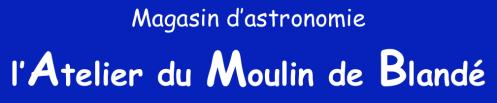 Logo Atelier du Moulin de Blandé (image Atelier du Moulin de Blandé)
