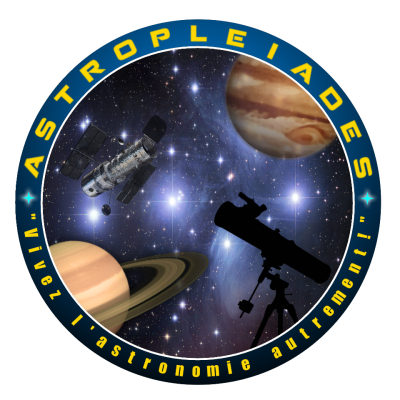 Logo officiel Astropleiades (Version 2017)
