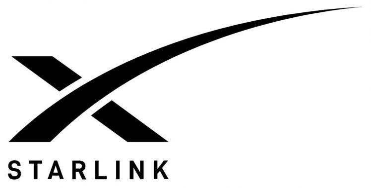 Logo officiel du projet starlink image space x