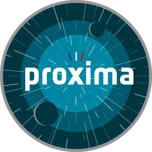 Logo officiel mission Proxima (image ESA)