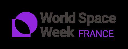 Logo officiel Semaine mondiale de l'Espace (image World Space Week)