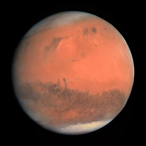 Photo de la planète Mars (image Google)