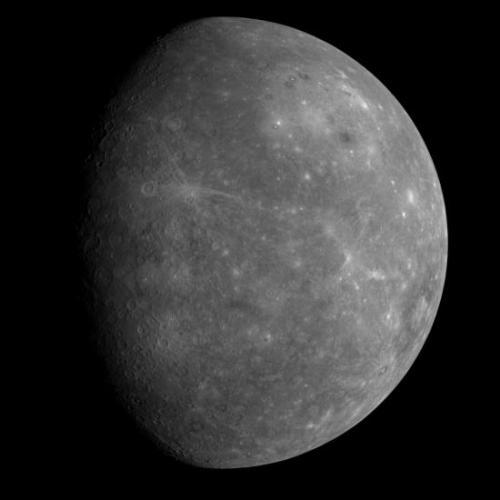 Photo de la planète Mercure (image Google)