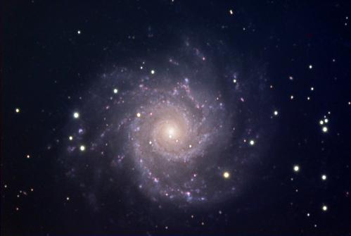 Messier 74 (image Antilhue)