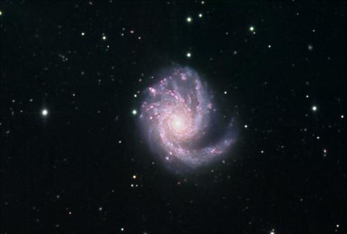 Messier 99 (image Daniel Verschatse)