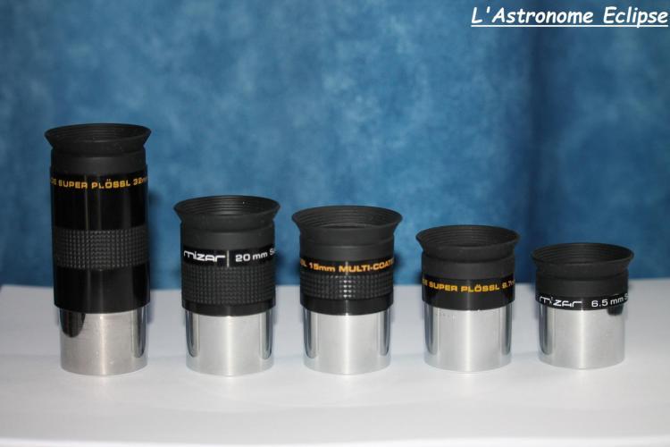 Oculaires Meade Super-Plössl série 4000 (image L'Astronome Eclipse)