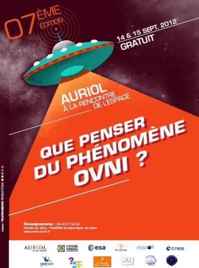 Affiche officielle Auriol (2012)