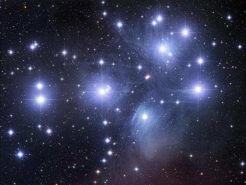 Messier 45 (image Robert Gendler)