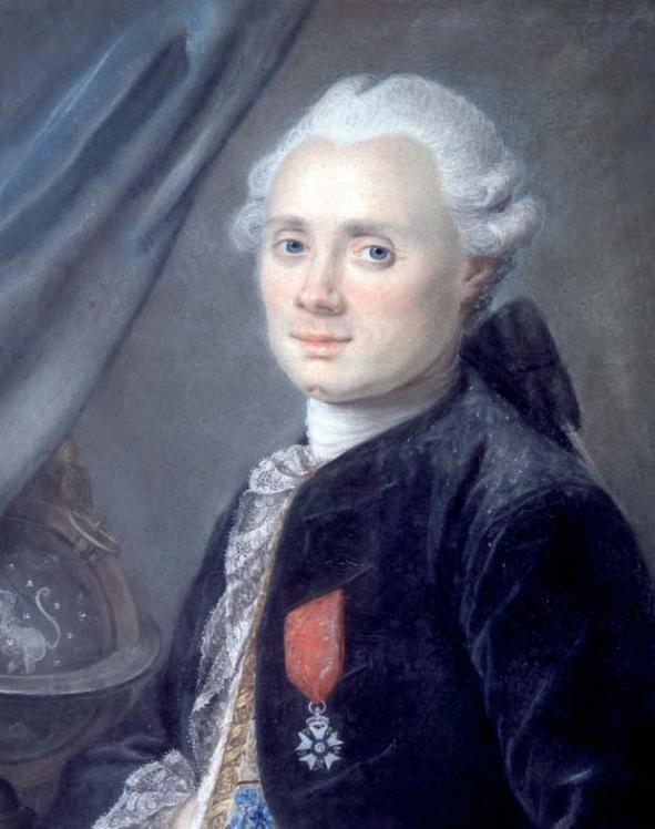 Portrait de Charles Messier (image Ronald Stoyan)