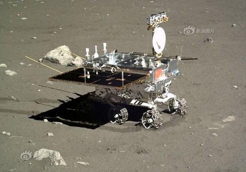 Portrait du rover Yutu (image CNSA)