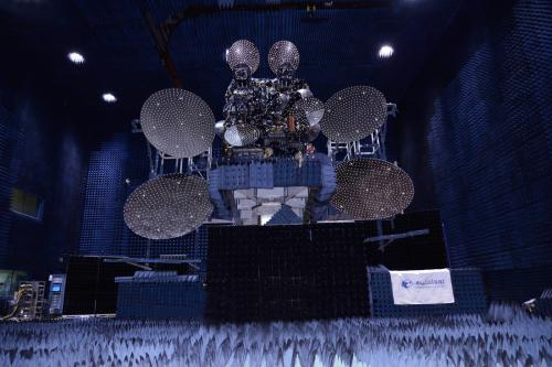 Satellite EUTELSAT 25B - Es'hail 1 (image Space Systems - Loral)