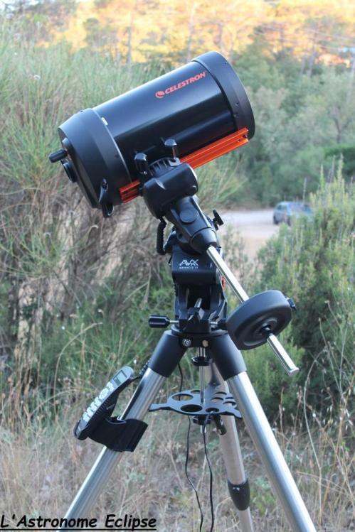 Schmidt-Cassegrain Celestron 8 (image L'Astronome Eclipse)