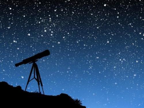Vue d'artiste du ciel étoilé (image Google)
