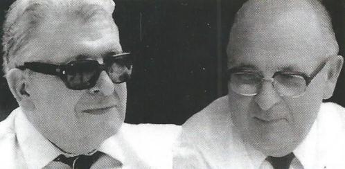 Serge-René Clavé à gauche, et Maurice Paul Clavé à droite (image Clavé)