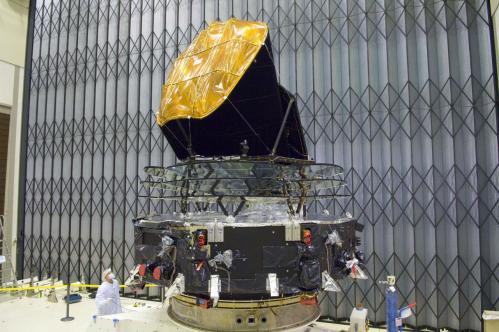 Télescope spatial Planck (image ESA)