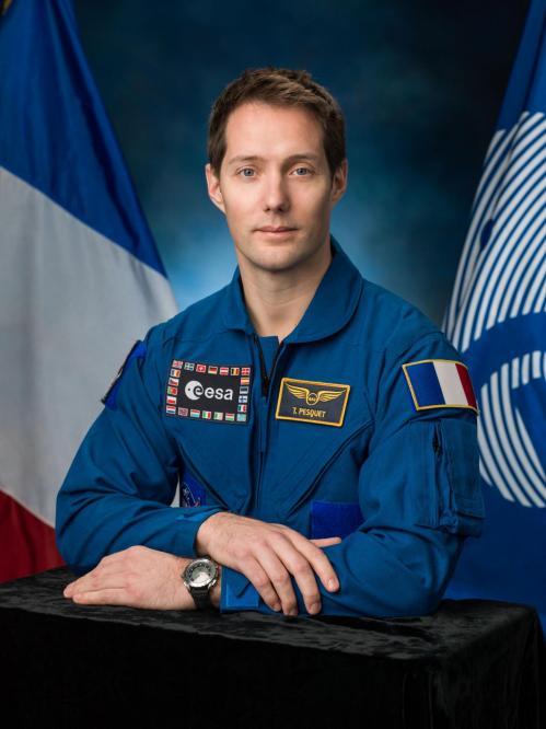 Thomas Pesquet, 10ème astronaute français (image ESA)