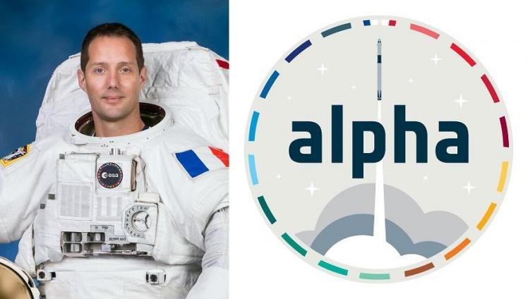 Thomas Pesquet - Mission ALPHA (image ESA)