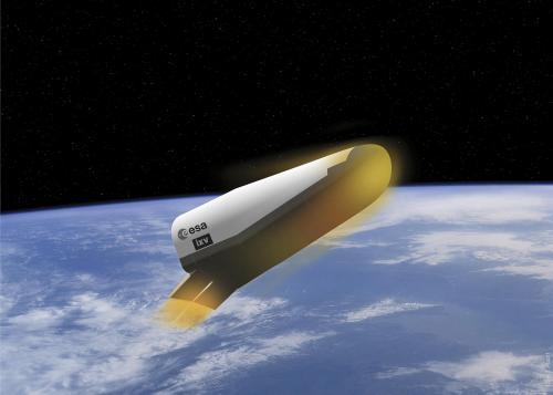 Avion spatial expérimental IXV (image CNRS)